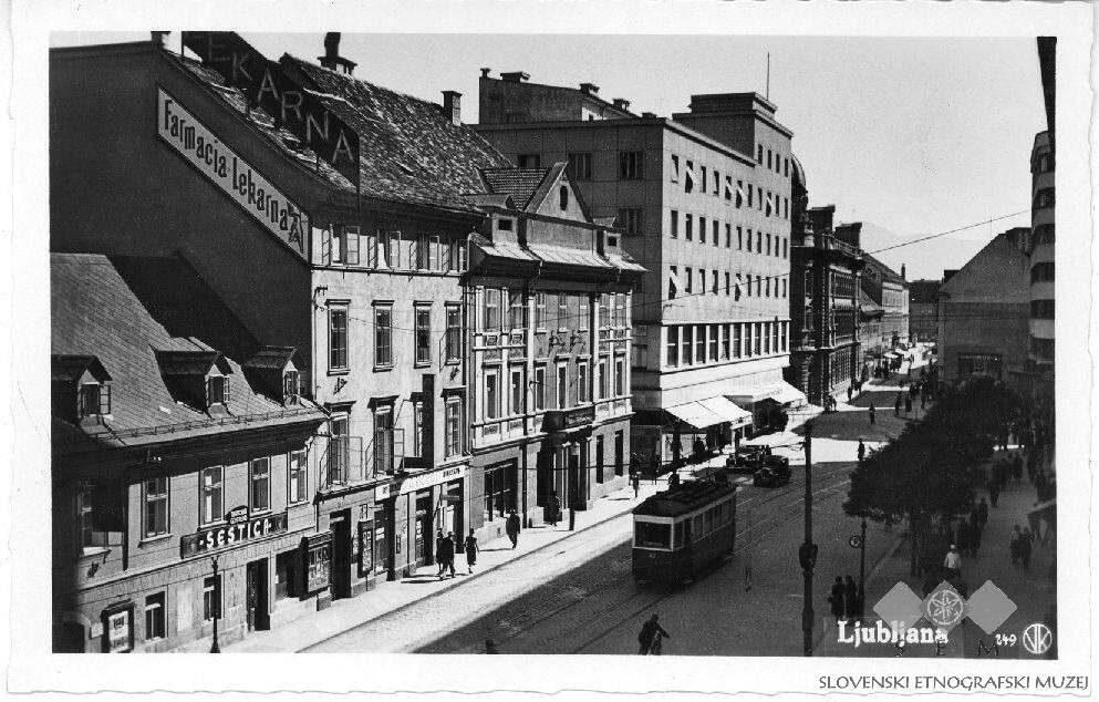 2nd half 20th Postcard_of_Ljubljana,_Slovenska_street_(2).jpg