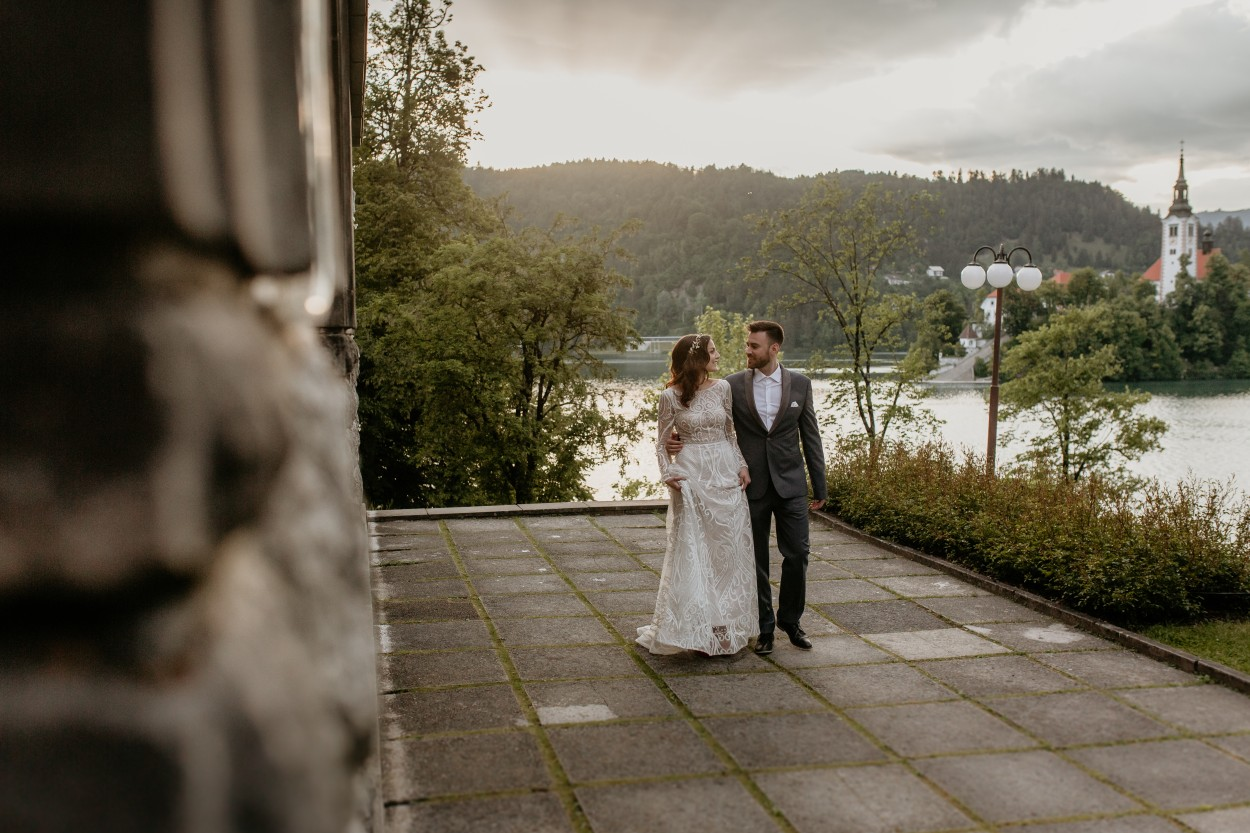 Bride and groom by Vila Bled.jpg