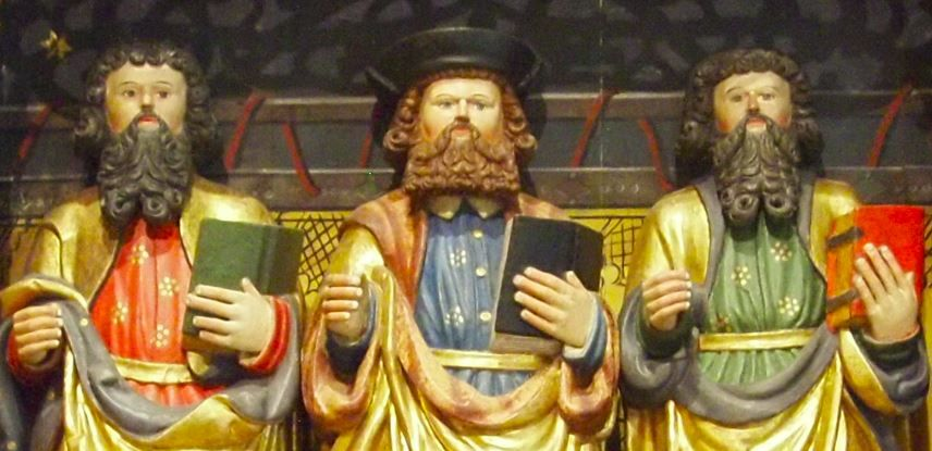 Winged Altar of St Canzianus 1530 detail.JPG