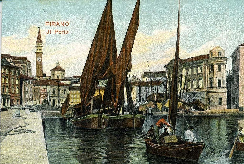 first half of 20c Postcard_of_Piran_harbour_(6).jpg