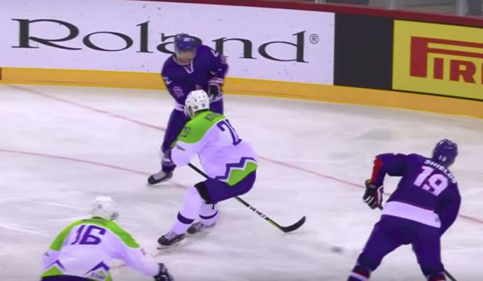 Ice Hockey: UK Beats Slovenia, 3:1 (Video Highlights)