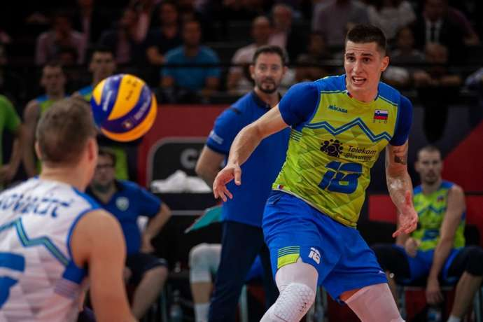 Volleyball: Slovenia Take Silver, Serbia Gold in Euro Championship (Video)