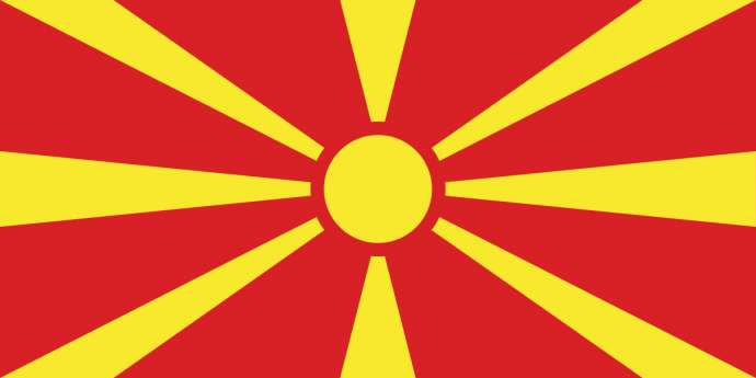 Macedonia's flag