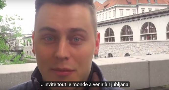 The People of Slovenia, in English with French Subtitles