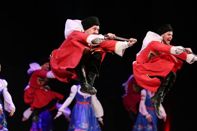 Russian Cossacks Kick Off 30th Imago Sloveniae in Ljubljana, Tonight!