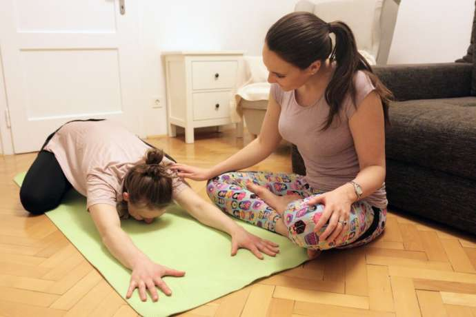 Meet the People: Sarah Glover, from Liverpool to Teaching Pregnancy Yoga in Ljubljana