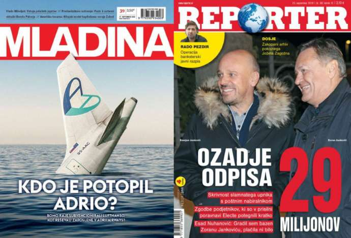Mladina & Reporter: Why Can't Govt. Save Adria? Vs Corrupt Energy Sector