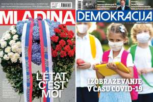 What Mladina & Demokracija Are Saying This Week: COVID Hysteria vs Judicial Mistakes