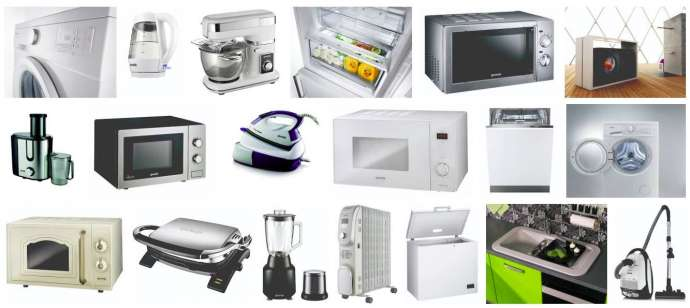Some of Gorenje's products