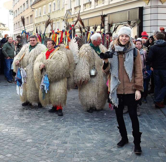 Add to the Atmosphere & Take Great Pictures at Ljubljana's Dragon Carnival, Saturday 22/02/20
