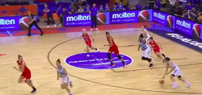 EuroBasket: Slovenian Women Through to Next Round (Video)