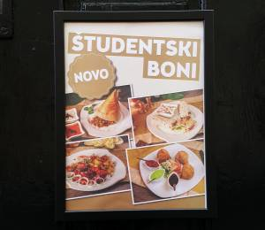Študentski Boni: Why Students Can Eat Out Every Day