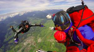 The Last Skydive in Lake Bled