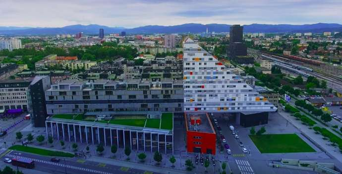 Ljubljana by Drone: The Raw & The Cooked