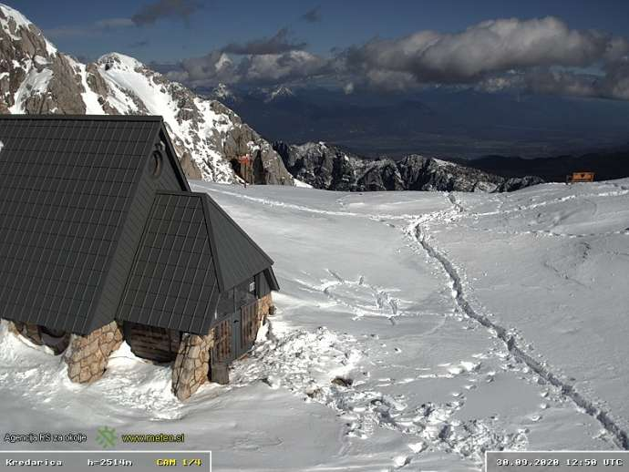 The Triglav Lodge at Kredarica