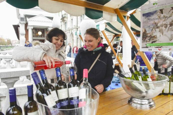 The annual St. Martin's Day wine festival is one of this week's events in Ljubljana