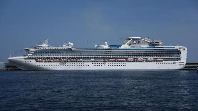 Diamond Princess in Yokohama (Jun. 2014)