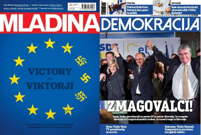 What Mladina & Demokracija Are Saying This Week: What the EU Elections Mean
