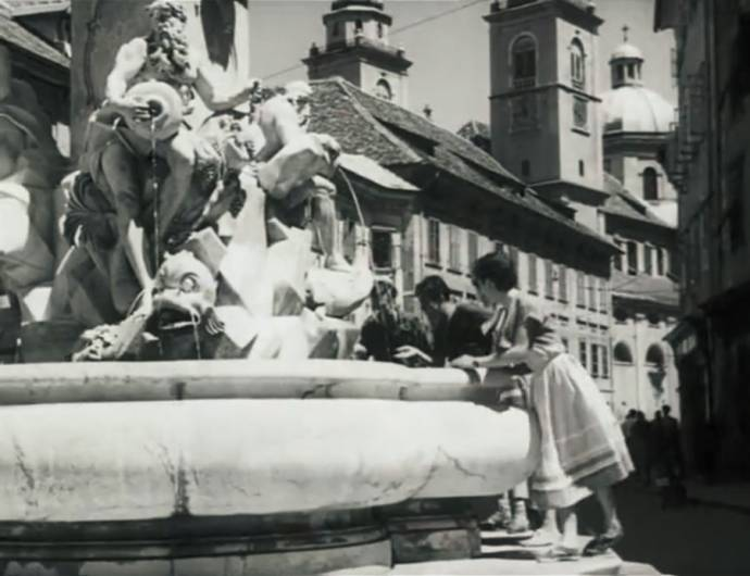 Slovenia on Film: Vesna - Ljubljana in 1953 (Full Video)