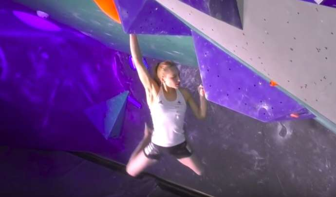 Sport Climbing: Vote for Janja Garnbret as Sportswoman of the Year 2019 (Video)
