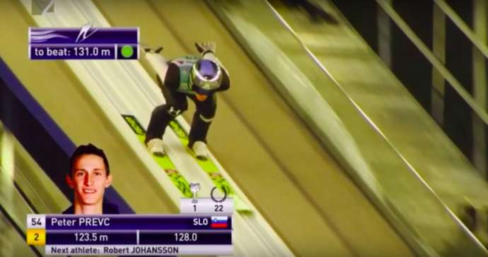 Ski Jumping: Prevc Second in Engelberg (Video)