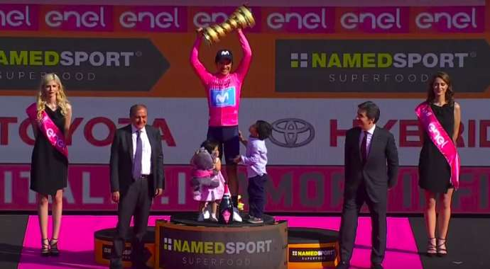 Cycling: Roglič Third Overall at Giro d'Italia (Video)