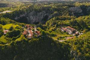 Škocjan from the Air