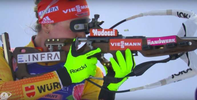 Pokljuka Biathlon: Fillon Maillet Wins Men's mass start, Oeberg Women's