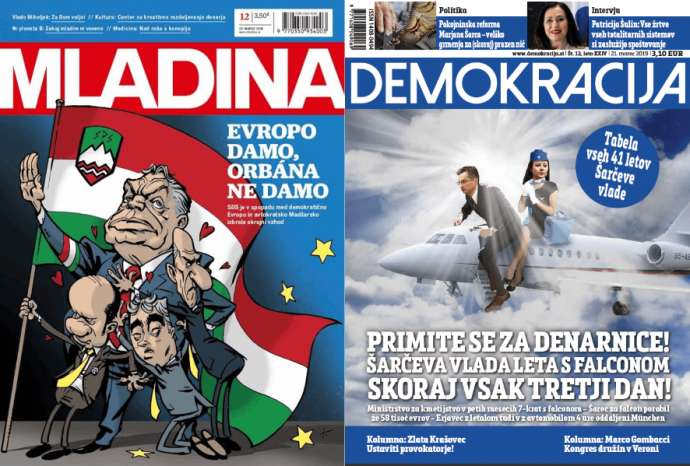 What Mladina & Demokracija Are Saying This Week: The Left & Greta Thunberg