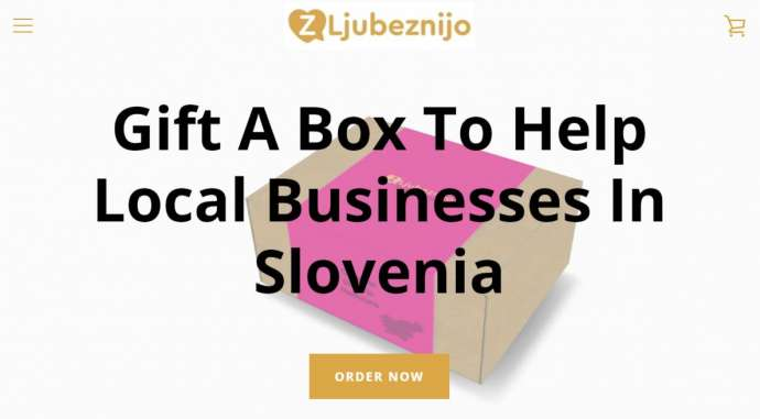 One Expat Finds A Creative Way To Support Local Businesses in Slovenia Struggling During Covid-19