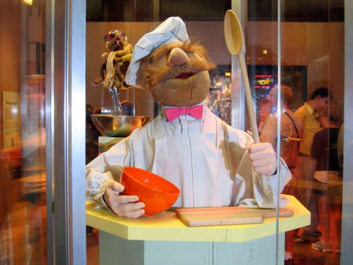 Swedish Chef at the Smithsonian's American History Museum