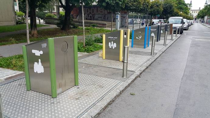 How to Use the Underground Trash Containers in Ljubljana