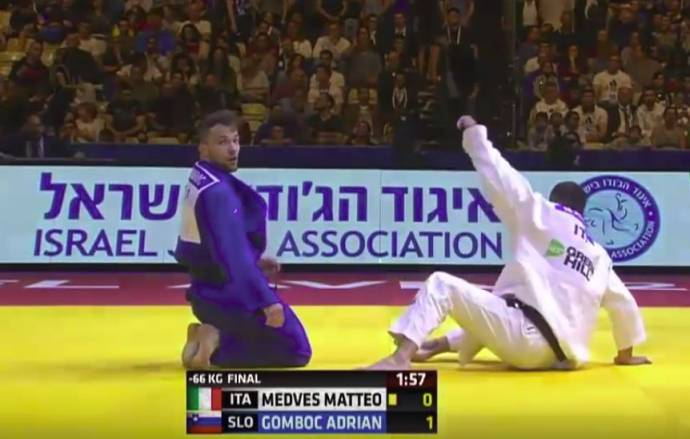 Gomboc Wins Gold at European Judo Championship (Videos)