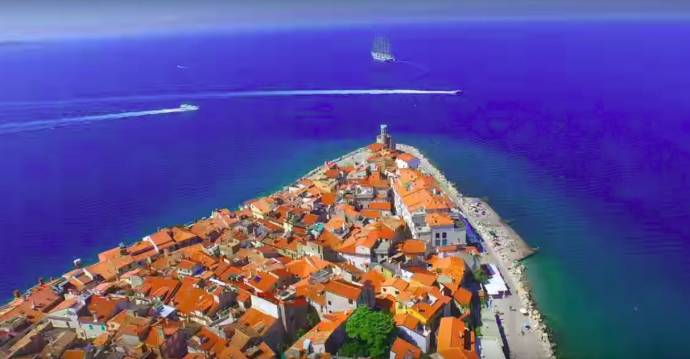 The Piran peninsula