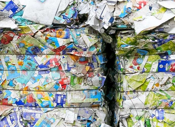 Lower Carniola Recycles Tetra Paks Into Toilet Paper