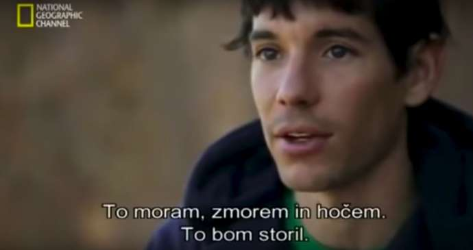 Learn Slovene with Alex Honnold