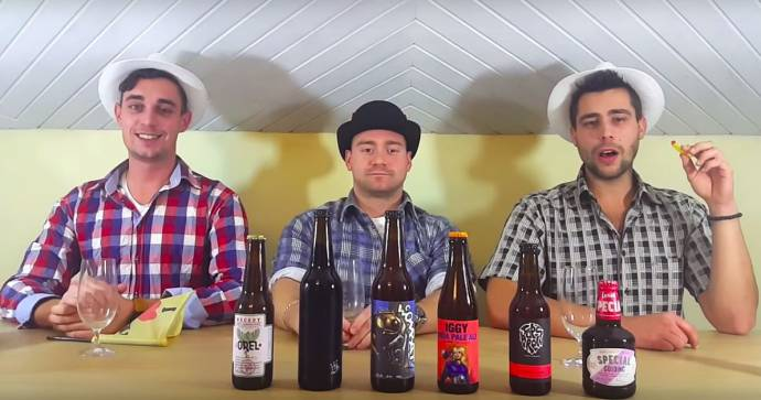 Tasting Slovenian Craft Beer