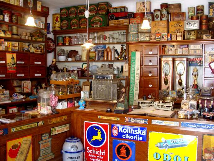 Learn How Slovenia Used to Shop, in Fabiani's Museum Shop, Lokev