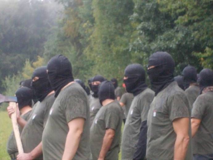 The paramilitary group in question