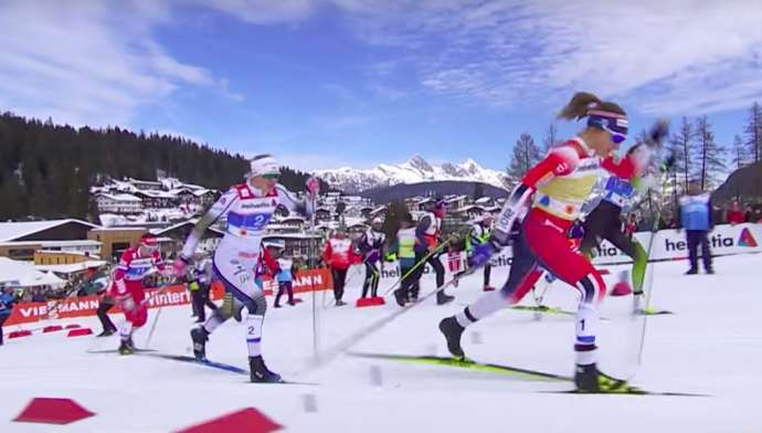 Nordic Skiing: Slovenian Women Get Silver in Sprint (Videos)