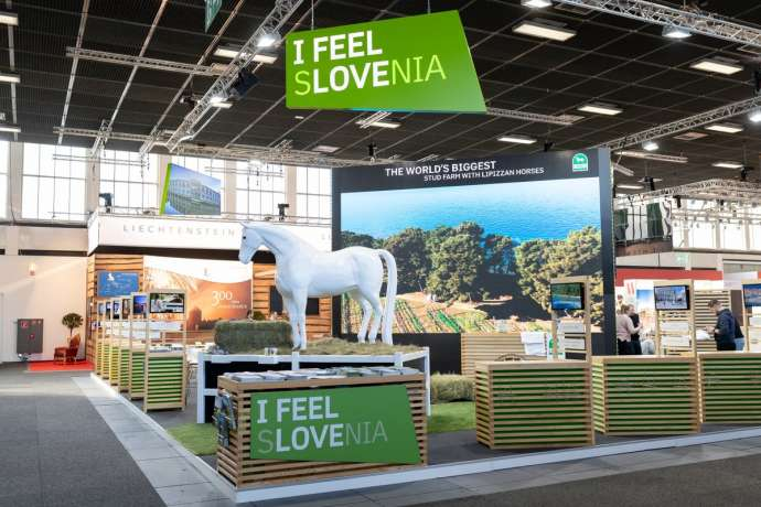 Slovenia's stands at ITB Berlin 2019