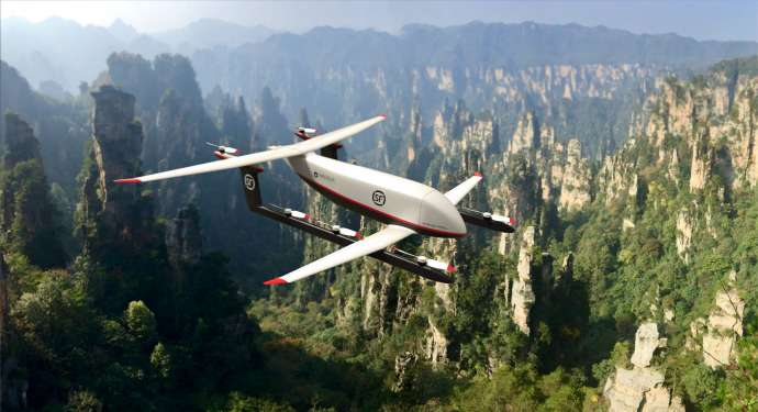 Pipistrel Developing Unmanned Commercial Aircraft with Chinese Firm, Carrying 300kg Cargo 500km