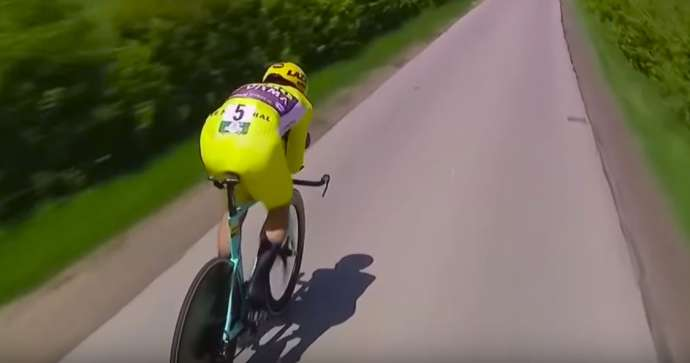 Cycling: Roglič Wins Second Tour de Romandie (Video)
