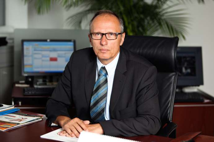 Fraport managing director Zmago Skobir