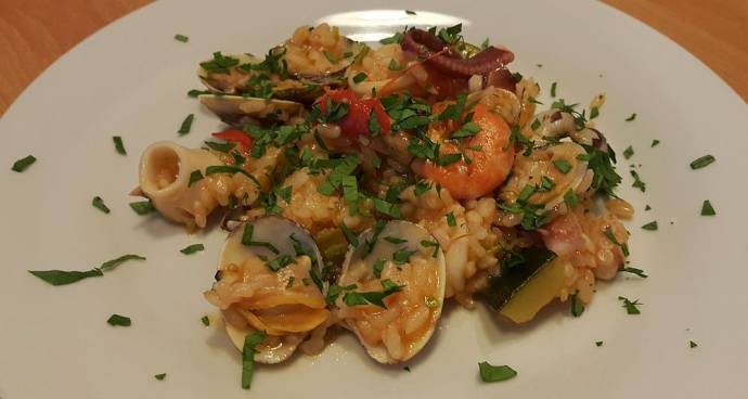 Slovenian Recipe of the Week: Rižota with Seafood
