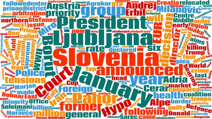 Last Week in Slovenia: 3 - 9 January, 2020