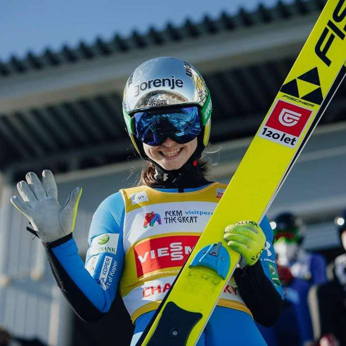 Ski Jumping: Nika Križnar Wins Overall World Cup