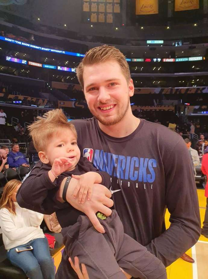 Luka Dončić Meets Kris in Los Angeles