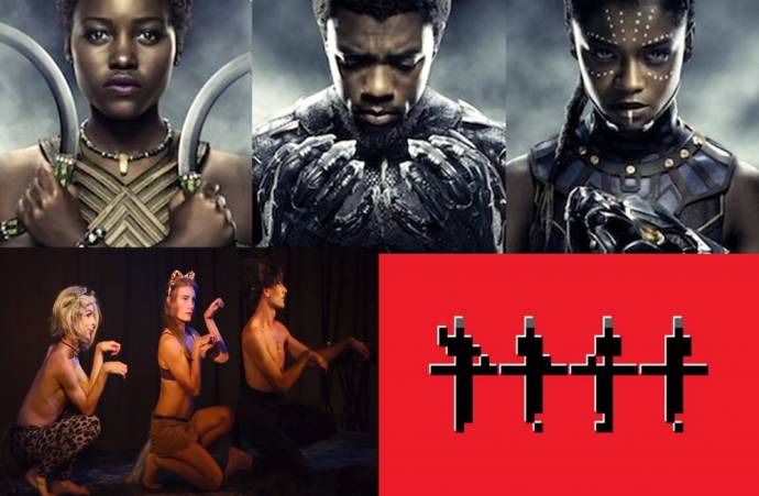 Clockwise from the top: Black Panther, Kraftwerk and Image Snatchers