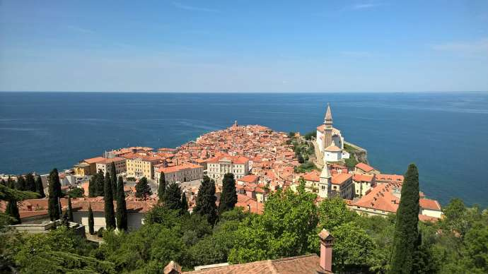 Piran, a popular choice in a survey of where Slovenes would like to spend their vouchers